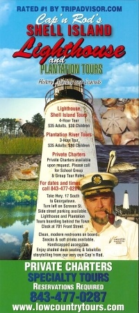 Cap'n Rod's Shell Island Lighthouse & Plantation Tours