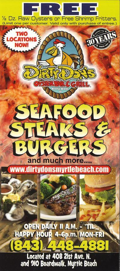 Dirty Don's Oyster Bar & Grill