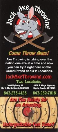 Jack Axe Throwing