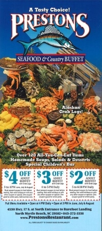 Preston's Seafood & Country Buffet