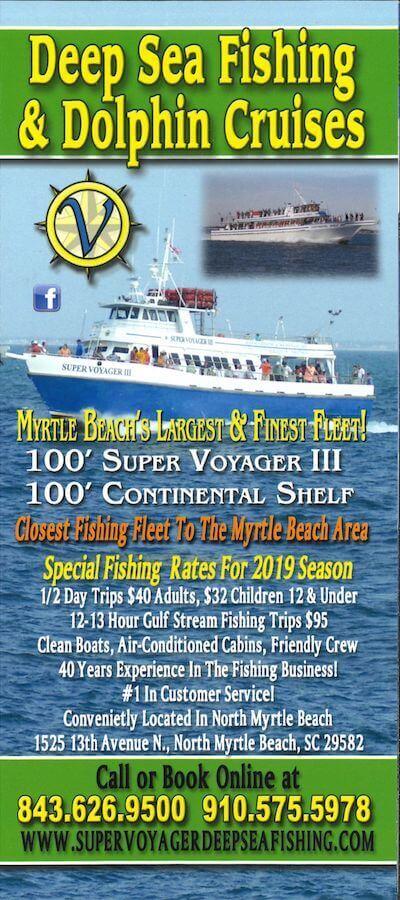Voyager Deep Sea Fishing & Dolphin Cruises