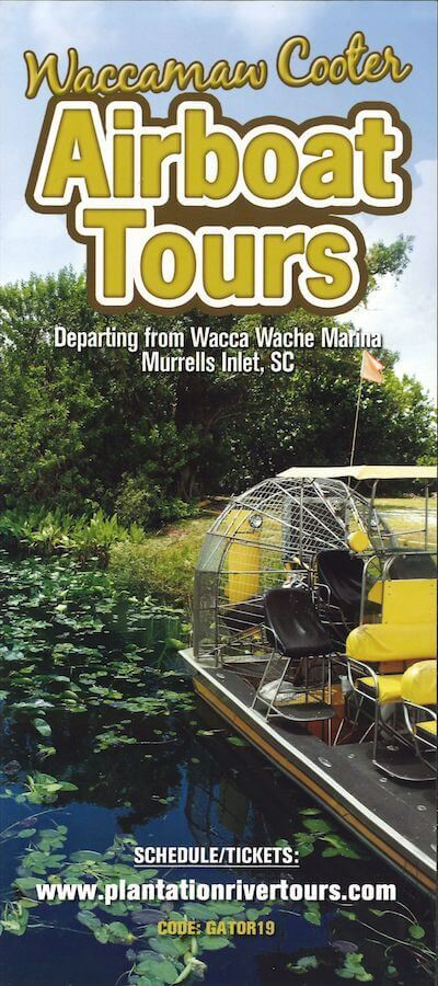 Waccamaw Cooter Airboat Tours