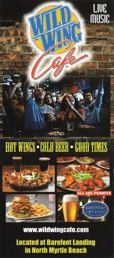 Wild Wing Cafe Brochure Image
