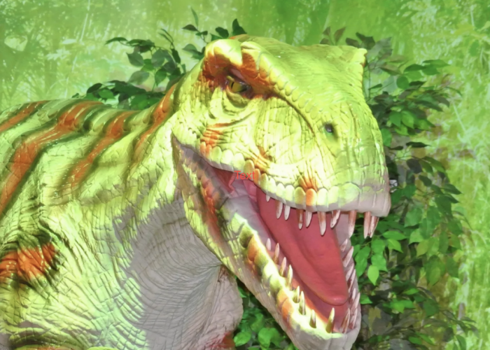 T-Rex rendition from Dino Park