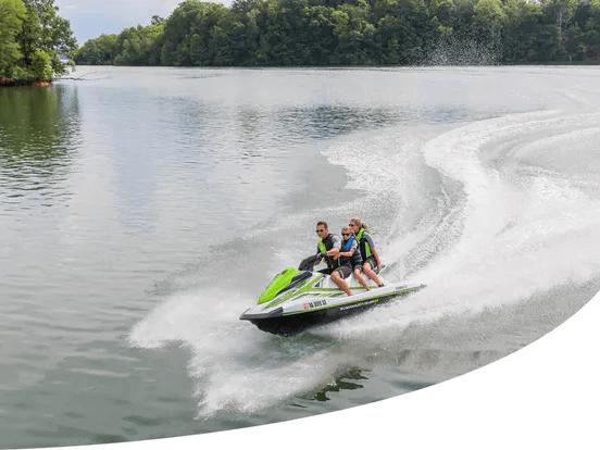 group riding jet ski - Shawn's Backwater Adventure