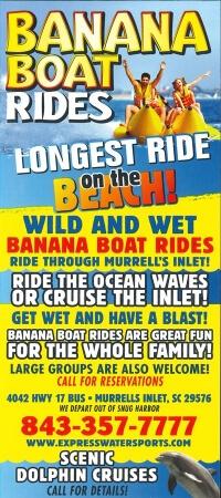 Express Watersports Banana Boat Rides