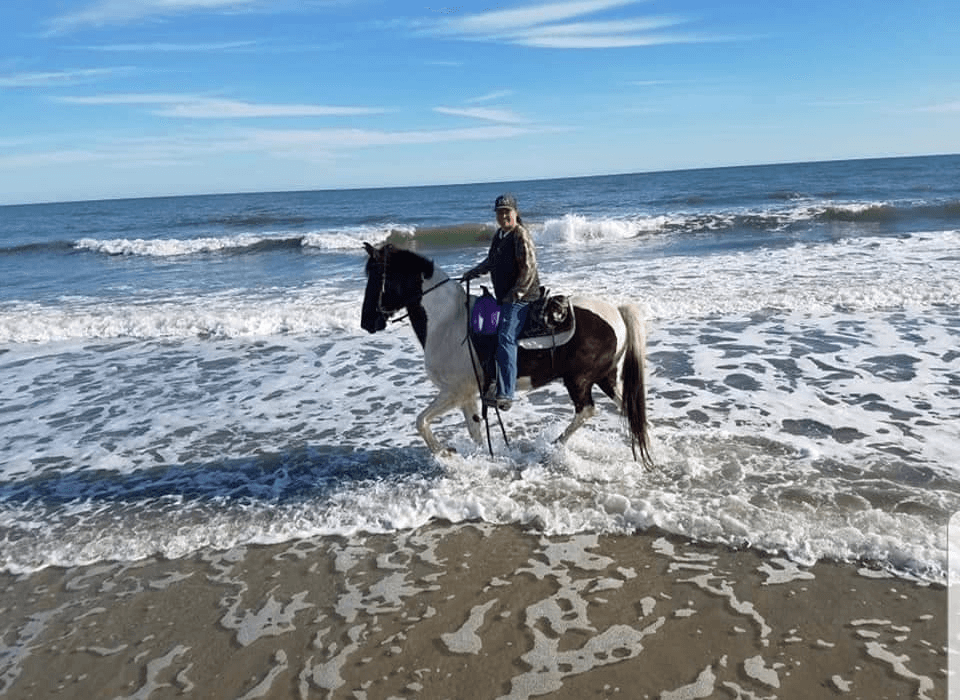 Horseback riding - a perfect winter activity at Myrtle Beach