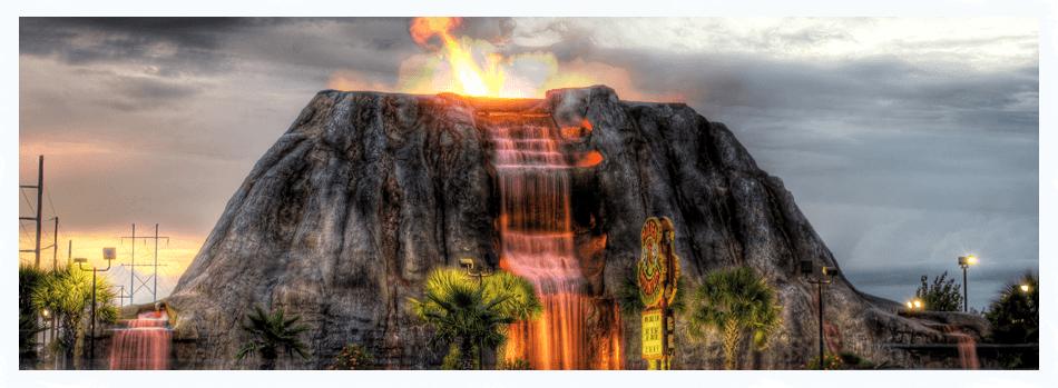 Volcano at Paradise Adventure Golf