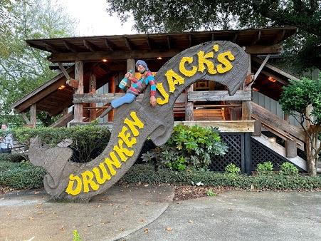 Drunken Jack's Restaurant in Murrel's Inlet, SC