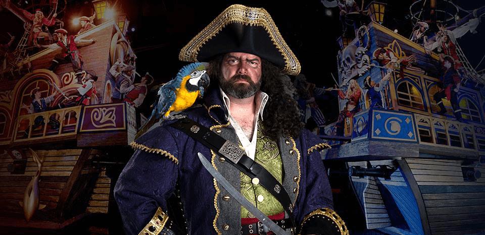 Captain Blackbeard from Pirates Voyage Dinner & Show