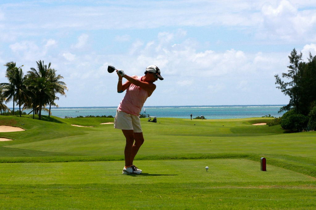golfing with oceanfront views - Glens Golf Group