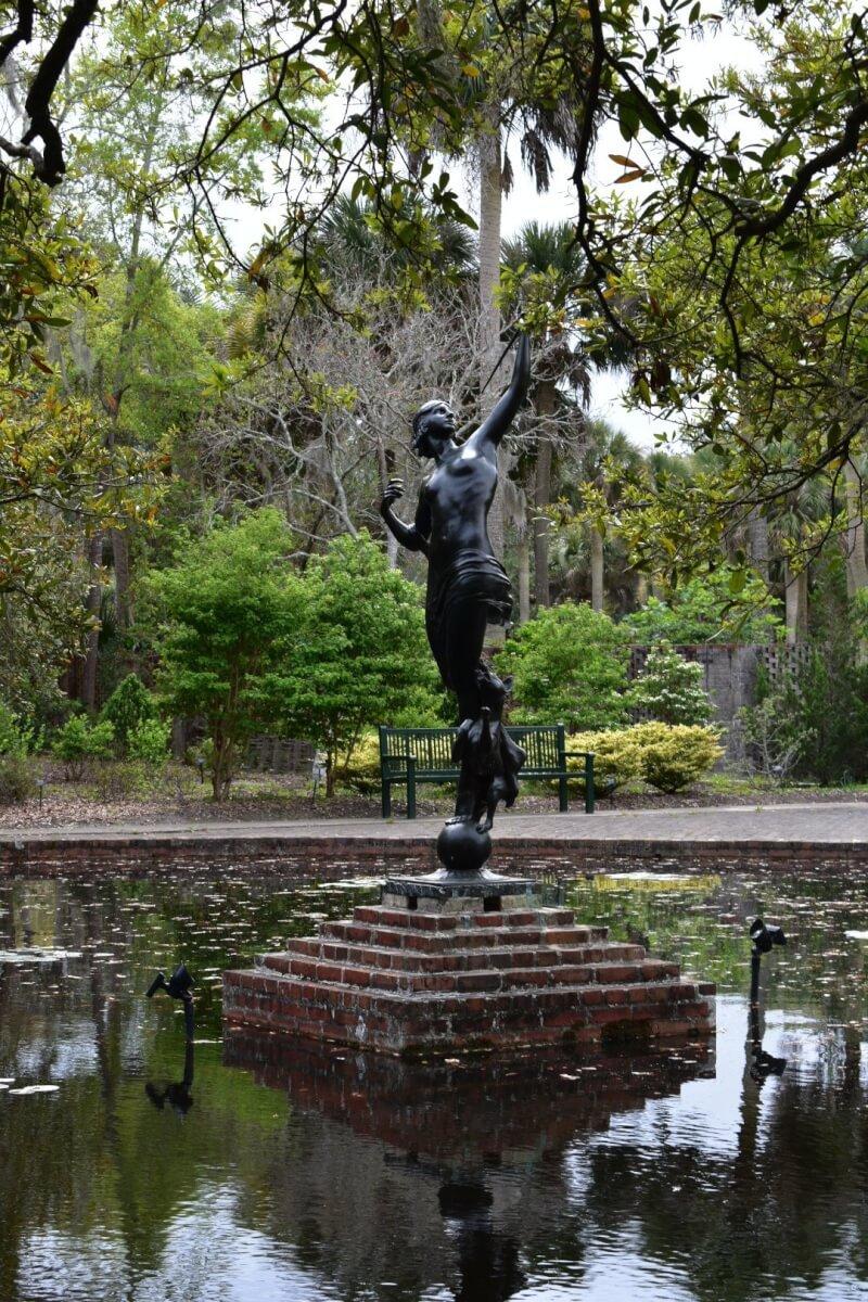 Statue at Brookgreen Gardens