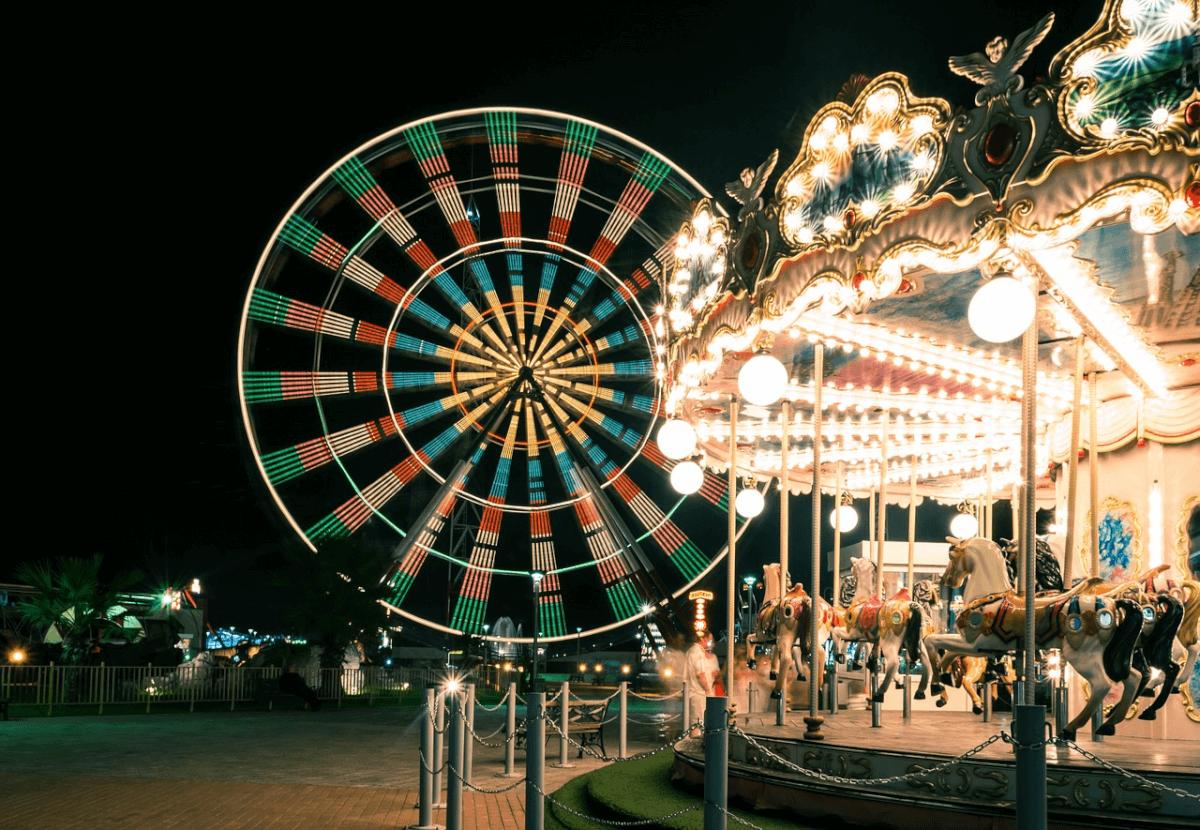 amusement rides at Family Kingdom