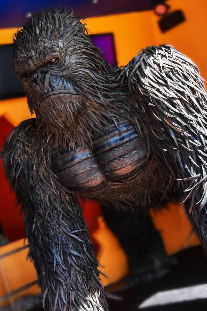 Tire gorilla at Ripley's Believe It or Not - Myrtle Beach