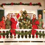 Dixie Stampede Christmas Balcony Santa