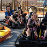The Track People in GoKarts