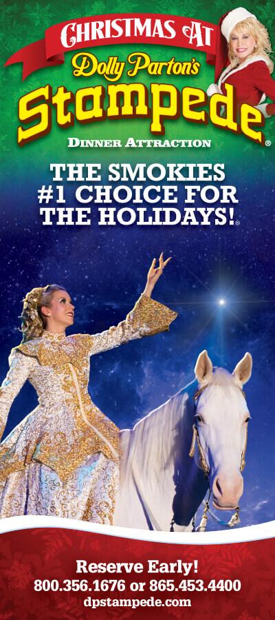 Dolly Parton's Stampede Brochure Image