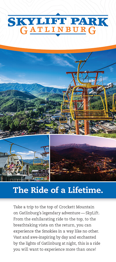 Gatlinburg Sky Lift Brochure Image