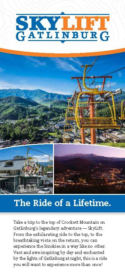 Gatlinburg Sky Lift Brochure Image