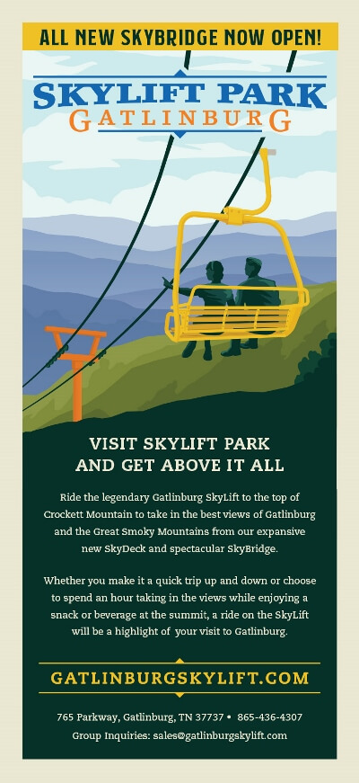 Gatlinburg SkyLift Park Brochure Image