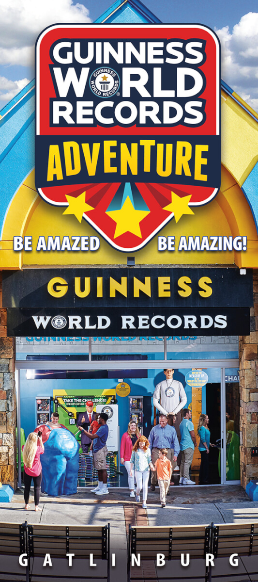 Guinness World Records Adventure Brochure Image