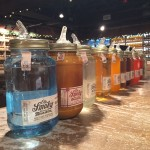 Ole Smoky Distillery Row of Moonshine Bottles