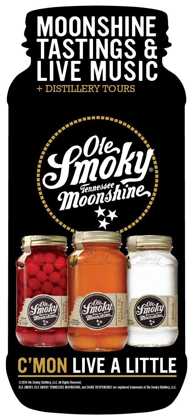 Ole Smoky Moonshine Distillery Brochure Image