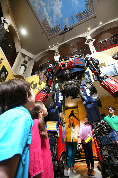 Ripley's Believe It or Not Optimus Prime