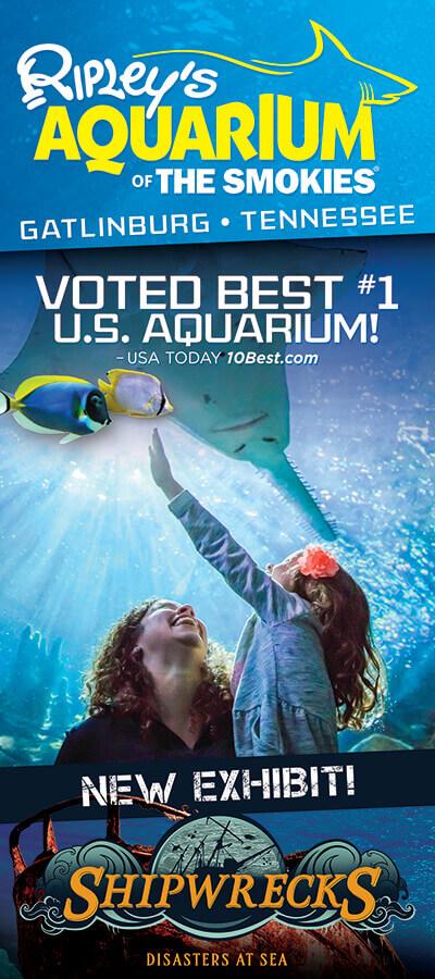 Ripley's Aquarium of the Smokies Brochure Image