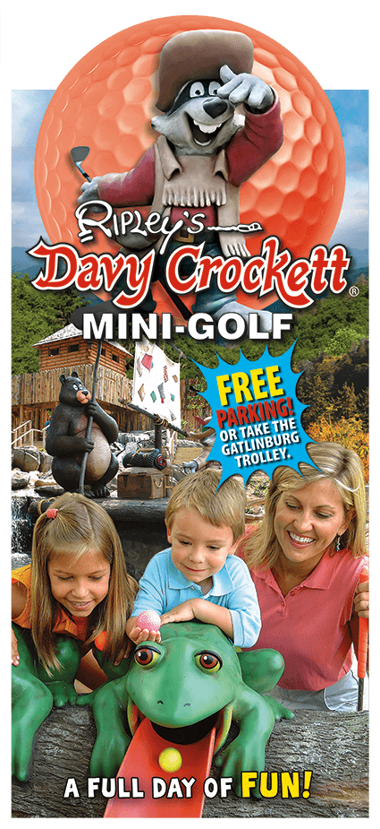 Ripley's Davy Crockett Mini-Golf Brochure Image