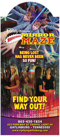 Ripley's Marvelous Mirror Maze & Ripley's Candy Factory