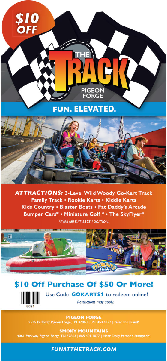 The Track Brochure Image