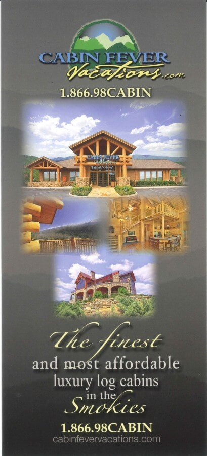 Cabin Fever Vacations Brochure Image