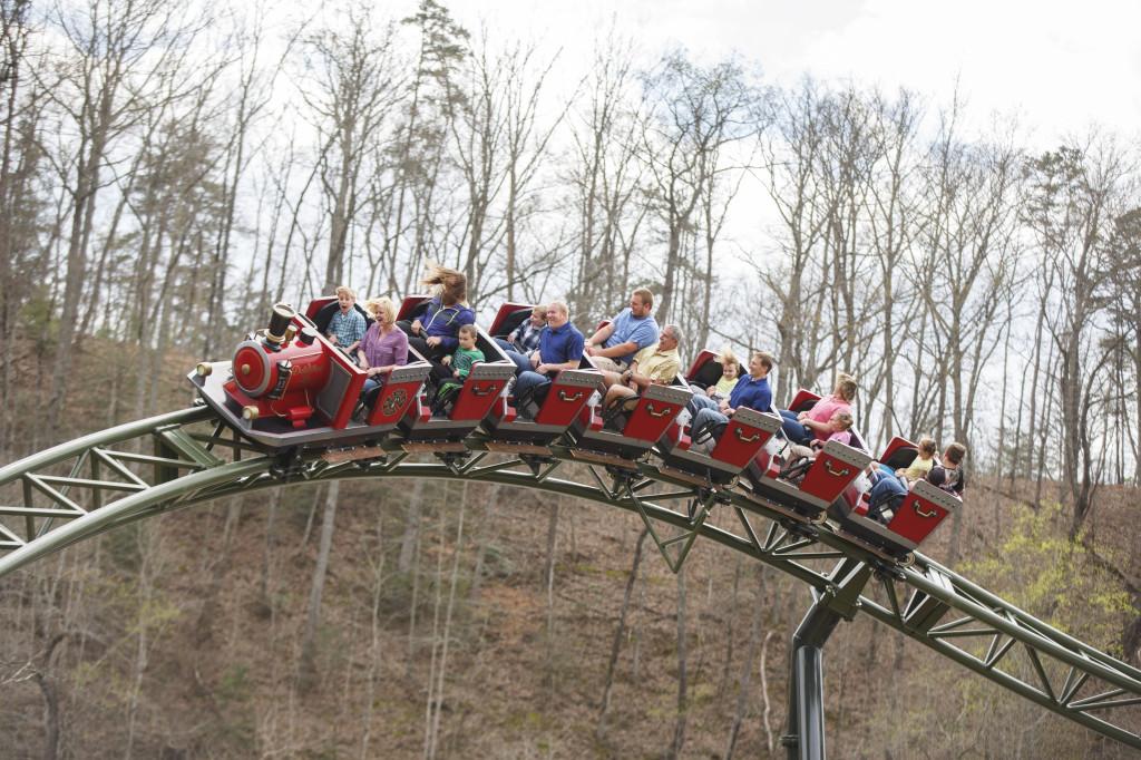 Dollywood Firechaser Express Roller Coaster