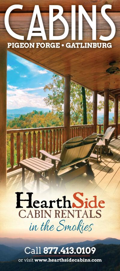 HearthSide Cabin Rentals Brochure Cover