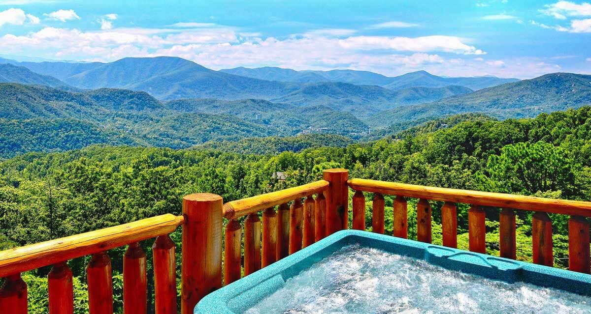Hearthside Cabin Rentals Hot Tub