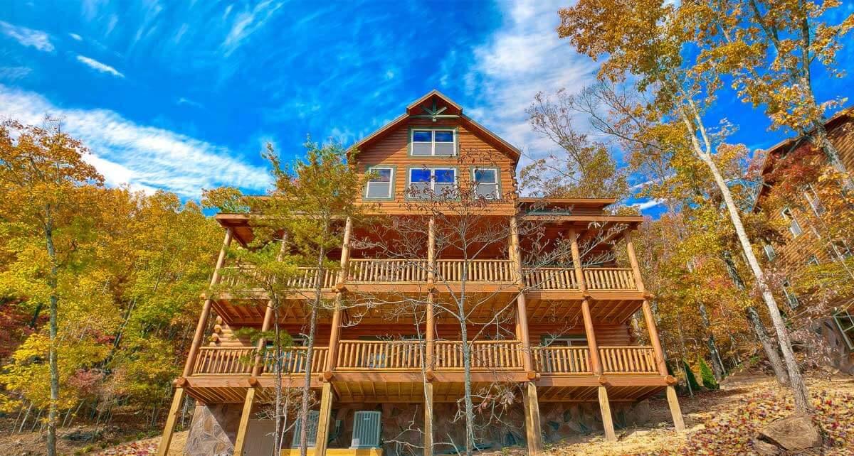 HearthSide Cabin Rentals Seasonal View