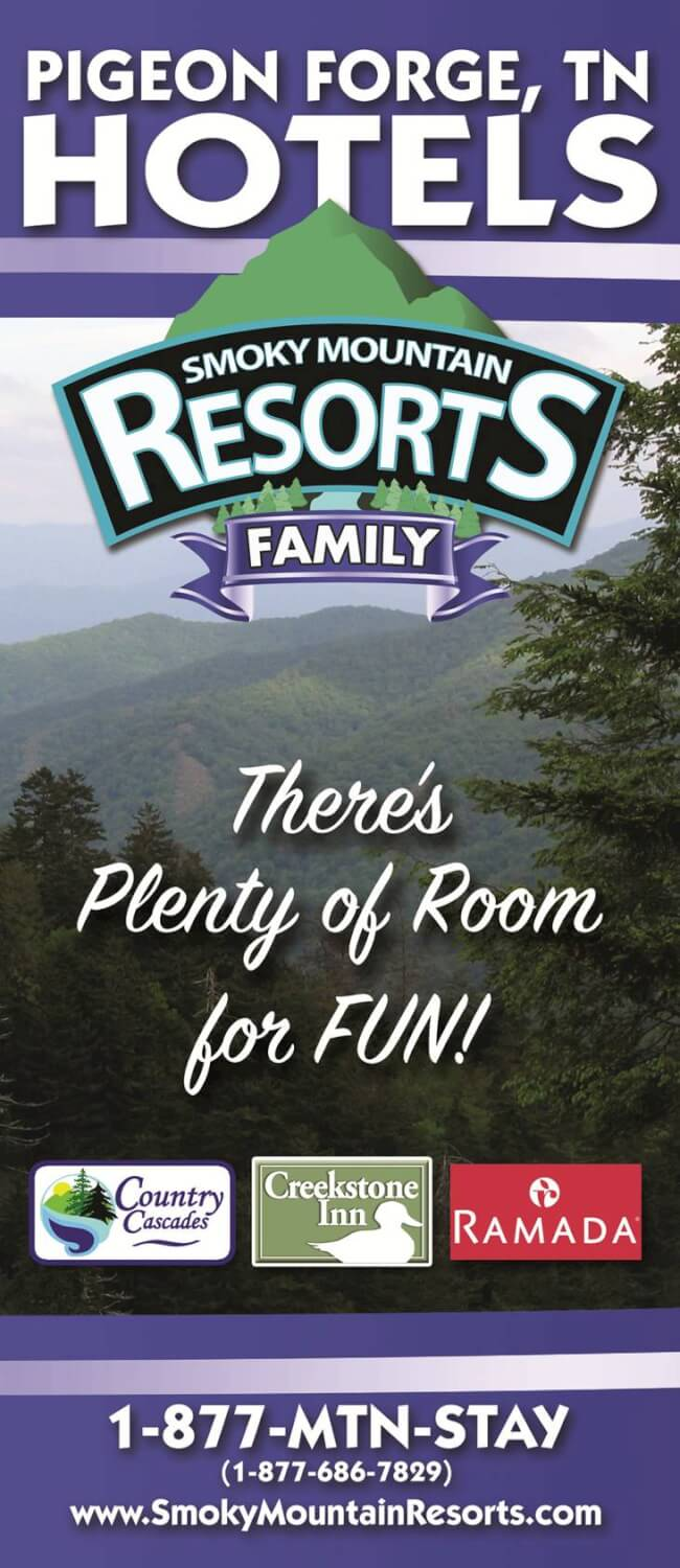 Smoky Mountain Resorts Brochure Image