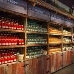 Ole Smoky Distillery Bottled Moonshine Shelves