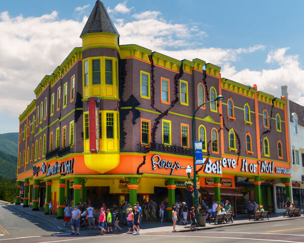 Ripley's Believe It or Not building shot