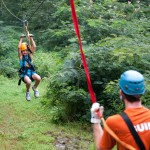 Foxfire Mountain Zip Lines Landing in