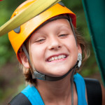 Foxfire Mountain Ziplines Smiling Girl