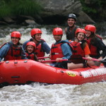 Smoky Mountain Outdoors Whitewater Rafting Boat Full