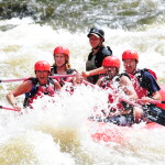 Smoky Mountain Outdoors Whitewater Rafting Red Raft