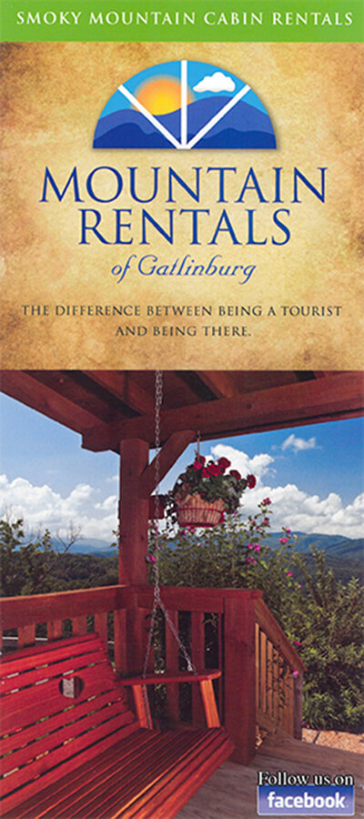 Mountain Rentals of Gatlinburg Brochure Image