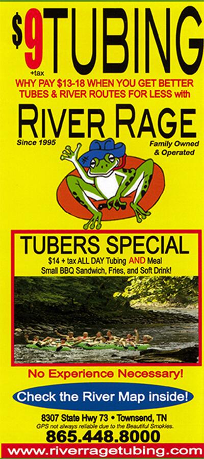 River Rage Brochure Image