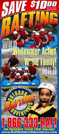 Outdoor Adventures Rafting