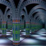 MagiQuest Mirror Maze Columns