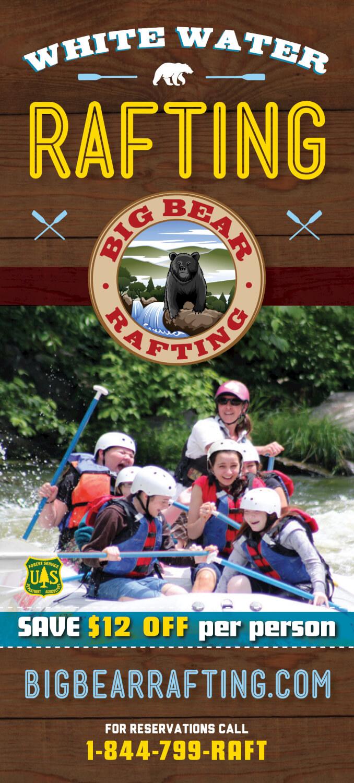 Big Bear Rafting Brochure Image