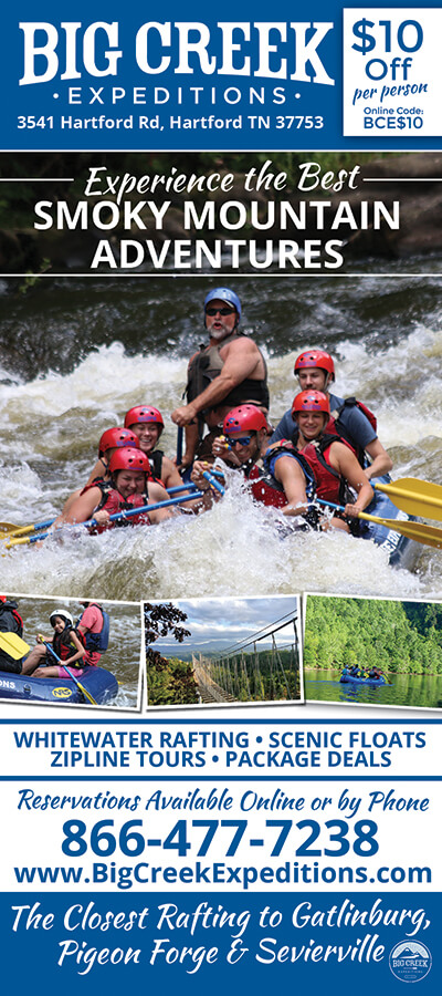 Big Creek Expeditions Brochure Image